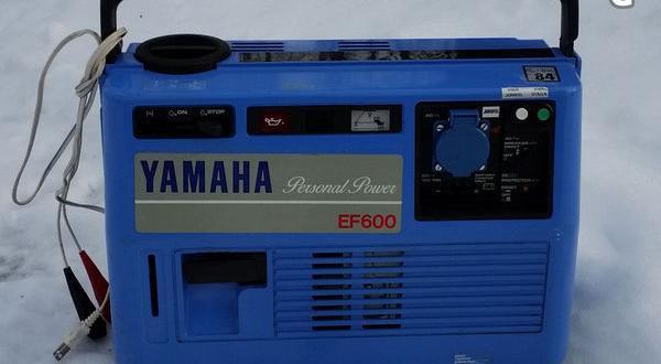 Yamaha elverk ef600 2900 kr i v lberg s ljes for Ef600 yamaha generator