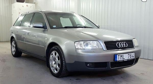 Audi A6 1.8T Avant 150hk | Xenon | Drag -02