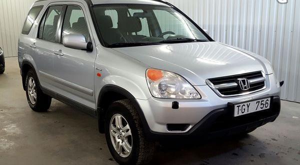 Honda CR-V 2.0 4WD Aut | 2 ägare | Drag -02