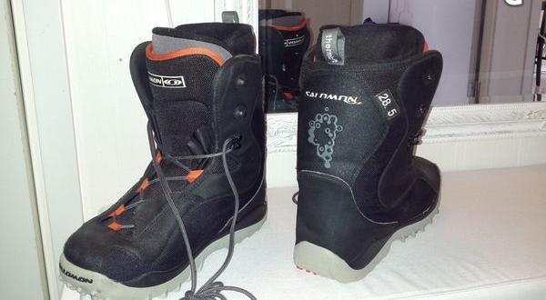 Snowboardskor storlek