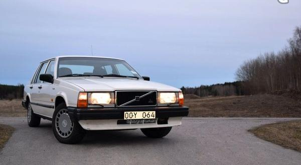 Volvo 740, 116 hk R4 2,1, 1989